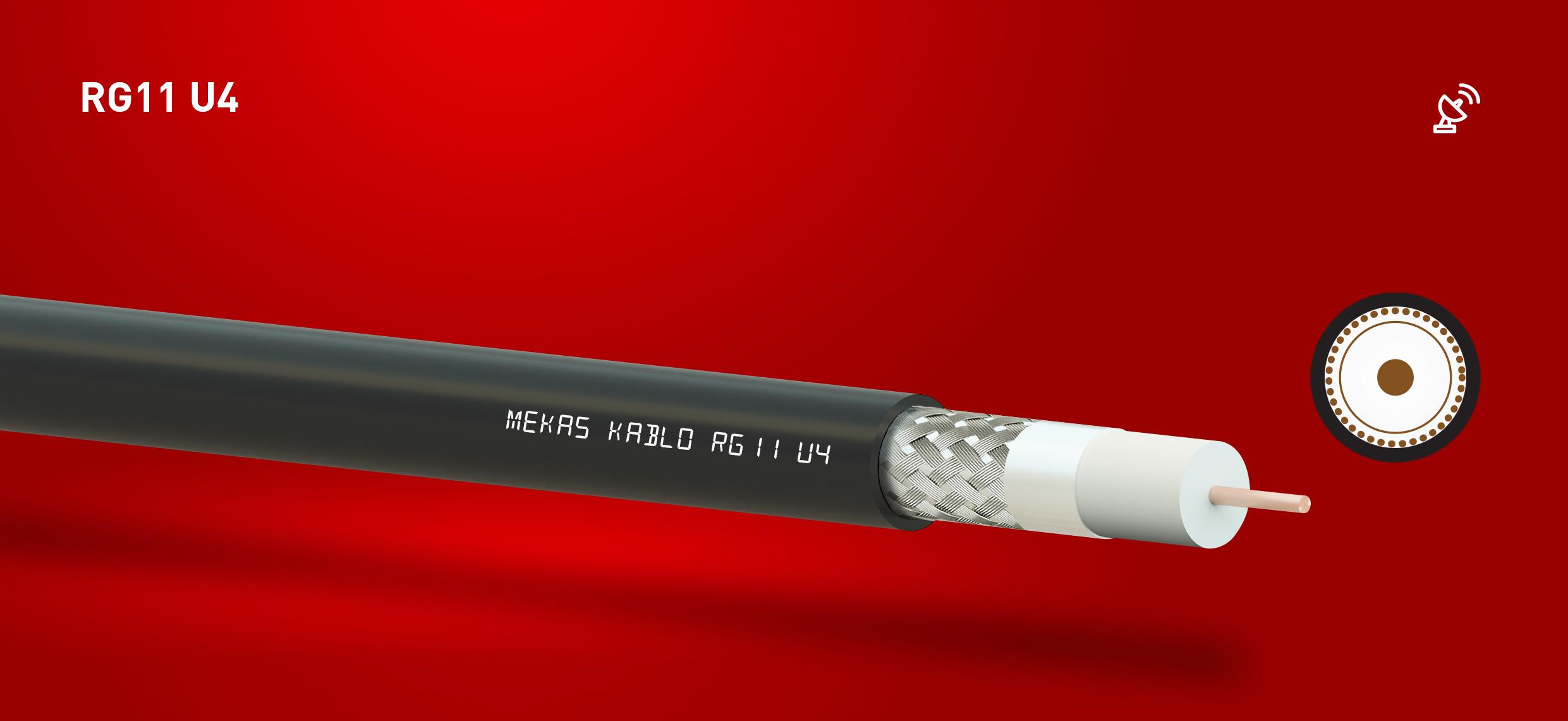 koaksiyel kablo rg11 u4